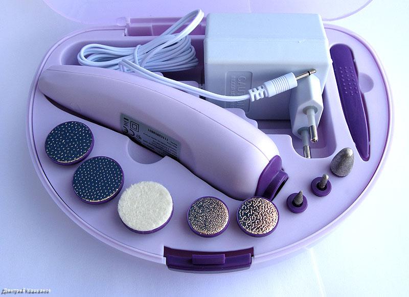 Маникюрно-педикюрный набор электрический
